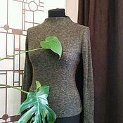 Одежда handmade. Livemaster - original item Cuello de tortuga de tejido de punto. El tejido de punto.chaqueta de punto.. Handmade.