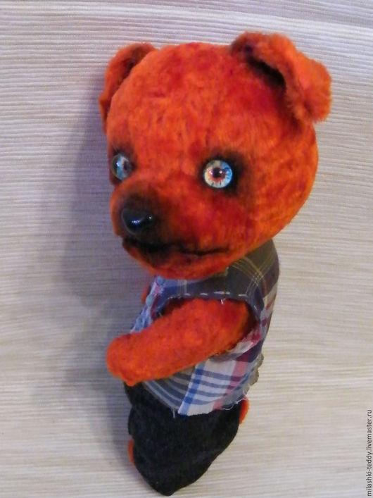 Мишки Тедди ручной работы. Ярмарка Мастеров - ручная работа. Купить пес Марк. Handmade. Ярко-красный, собака, рыжий