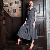 Одежда handmade. Livemaster - original item PETRA dress made of natural fabrics!. Handmade.
