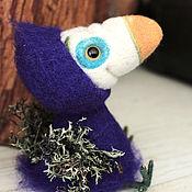 """Куклы и игрушки ручной работы. Ярмарка Мастеров - ручная работа войлочная птица счастья """"Додо"""". Handmade."""