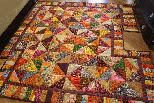 Текстиль, ковры ручной работы. Ярмарка Мастеров - ручная работа. Купить Лоскутное покрывало «На печку» № 303. Handmade.