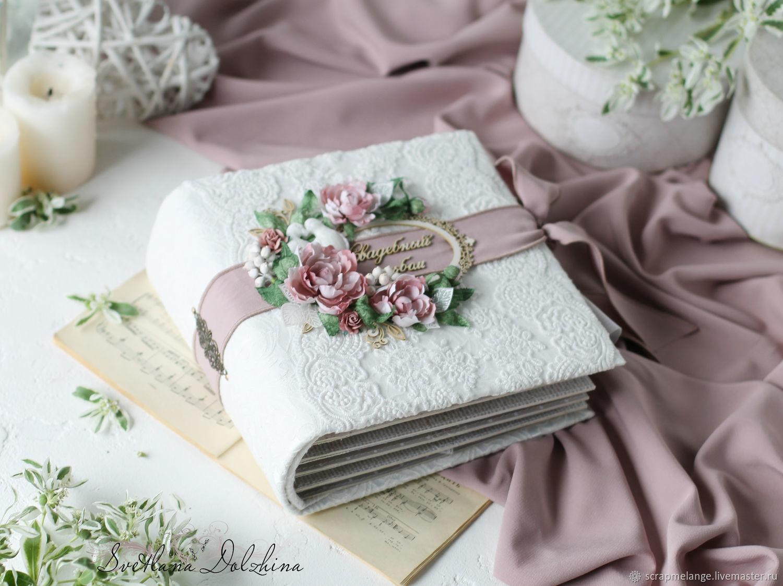 Wedding album 'Wedding pink' gift white pink, Wedding photo album, Tyumen,  Фото №1