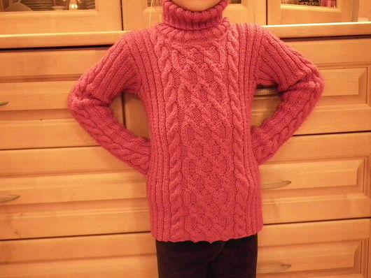Кофты и свитера ручной работы. Ярмарка Мастеров - ручная работа. Купить детская водолазка 3. Handmade. Детская одежда