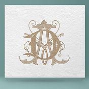 Дизайн и реклама ручной работы. Ярмарка Мастеров - ручная работа Монограмма, логотип, фирменный стиль. Handmade.