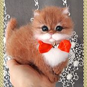 Куклы и игрушки handmade. Livemaster - original item felt toy: Ryzhulka from wool. Handmade.