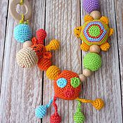 """Одежда ручной работы. Ярмарка Мастеров - ручная работа Слингобусы """"Жирафик и черепашка"""". Handmade."""