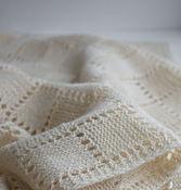 Аксессуары handmade. Livemaster - original item White scarf, stole, male / female, knitted from lamb wool. Handmade.