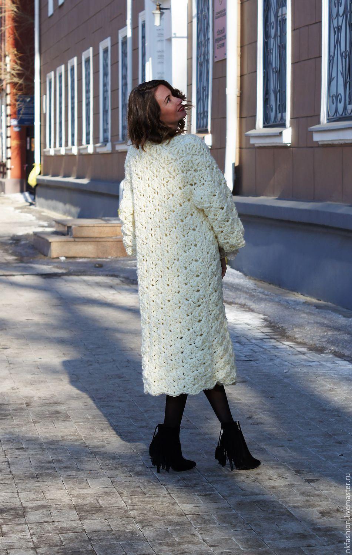 Пальто » Вязание спицами и крючком 13
