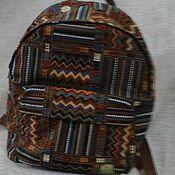 Сумки и аксессуары ручной работы. Ярмарка Мастеров - ручная работа рюкзак из гобелена. Handmade.