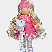 Материалы для творчества handmade. Livemaster - original item Sewing kit doll Zlata. Handmade.