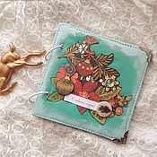 Канцелярские товары handmade. Livemaster - original item Gifts: Christmas photo album. Handmade.