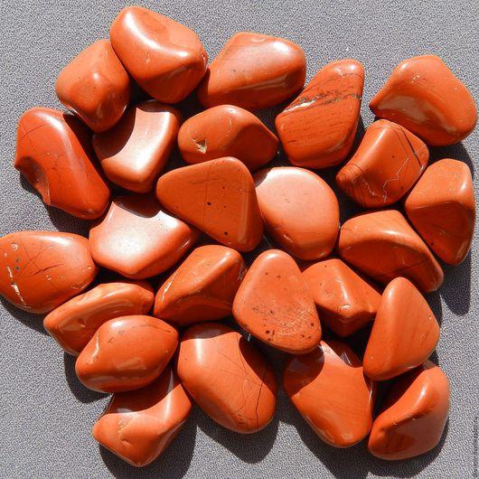 Минералы, друза ручной работы. Ярмарка Мастеров - ручная работа. Купить Красная яшма, галтовка 2 см. Handmade. Камень