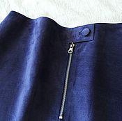 Одежда handmade. Livemaster - original item Suede skirt. Handmade.