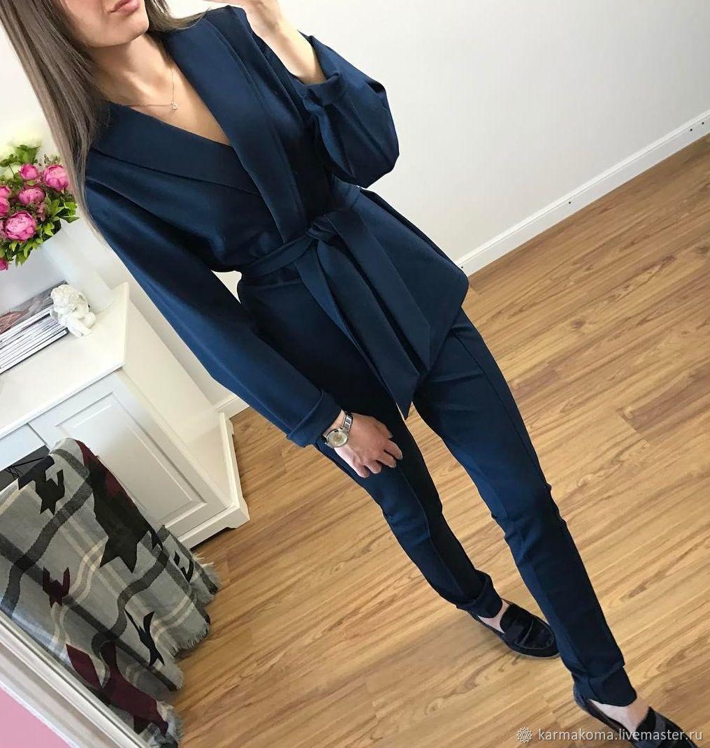Kimano suit blue