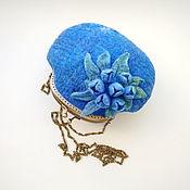 Сумки и аксессуары handmade. Livemaster - original item Bag with clasp: from wool
