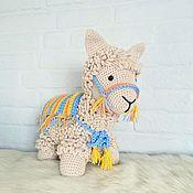 Куклы и игрушки handmade. Livemaster - original item Lama, interior soft toy. Handmade.