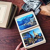 Фотоальбомы ручной работы. Ярмарка Мастеров - ручная работа Фоторамки с прорезями для фотографий / прорезные уголки для фото. Handmade.