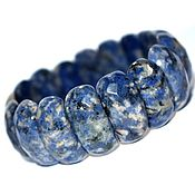 Украшения handmade. Livemaster - original item Bracelet of natural sodalite