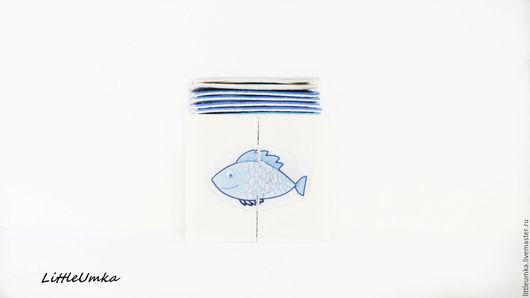 Развивающие игрушки ручной работы. Ярмарка Мастеров - ручная работа. Купить Puzzle для самых маленьких. Рыбы.. Handmade. Пазлы