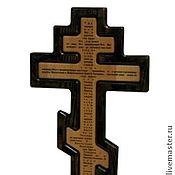Картины и панно handmade. Livemaster - original item Orthodox wall cross. Handmade.