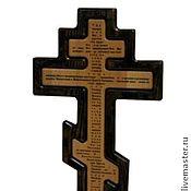 Картины и панно handmade. Livemaster - original item Orthodox wall cross. Handmade.