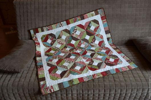 Текстиль, ковры ручной работы. Ярмарка Мастеров - ручная работа. Купить Квилт Морозный вечер. Handmade. Комбинированный, пэчворк