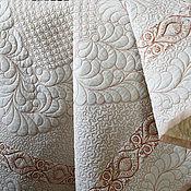 """Для дома и интерьера ручной работы. Ярмарка Мастеров - ручная работа одеяло """"Волшебные воспоминания"""". Handmade."""