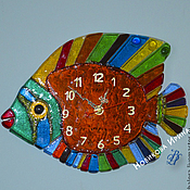 """Для дома и интерьера ручной работы. Ярмарка Мастеров - ручная работа Настенные часы """"Королевский ангел"""". Handmade."""