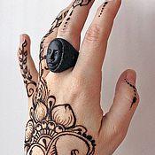 Украшения ручной работы. Ярмарка Мастеров - ручная работа Кольцо Black Matt Литое кольцо Черное кольцо Крупное кольцо. Handmade.