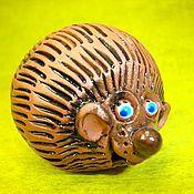Куклы и игрушки ручной работы. Ярмарка Мастеров - ручная работа Ежик - колобок. Handmade.