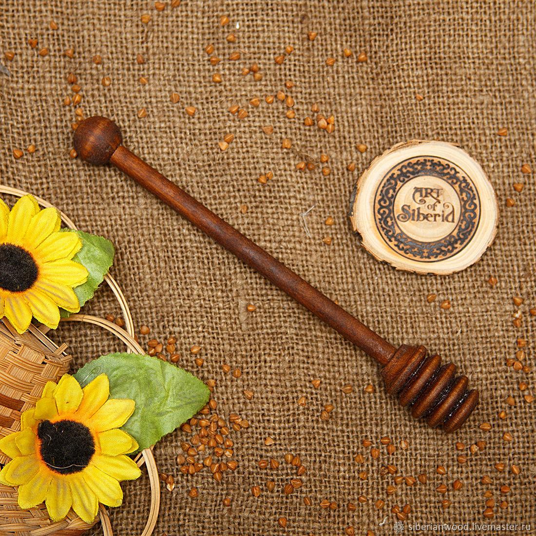 Grisl wooden Spoon for honey Birch #D6, Utensils, Novokuznetsk,  Фото №1