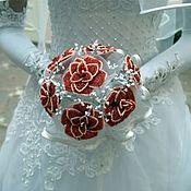 Свадебный салон ручной работы. Ярмарка Мастеров - ручная работа Букеты невесты. Handmade.