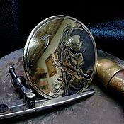 """Аксессуары handmade. Livemaster - original item Belt buckle - """"Predator"""".. Handmade."""