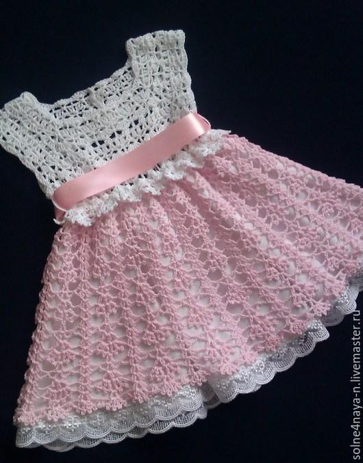 """Одежда для девочек, ручной работы. Ярмарка Мастеров - ручная работа. Купить Платье """"Неженка"""". Handmade. Бледно-розовый, Розовое платье"""