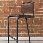 Для дома и интерьера handmade. Livemaster - original item Bar chair loft-style