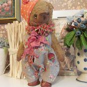 Куклы и игрушки ручной работы. Ярмарка Мастеров - ручная работа Мишка Ежевика. Handmade.
