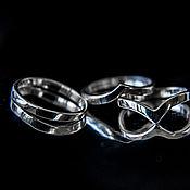 Фаланговое кольцо ручной работы. Ярмарка Мастеров - ручная работа Серебряные колечки на верхнюю фалангу. Handmade.
