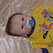 Куклы и игрушки handmade. Livemaster - original item Doll reborn boy Eden. Handmade.