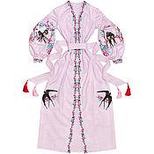 "Одежда handmade. Livemaster - original item Long dress ""Swallow`s Happiness"". Handmade."