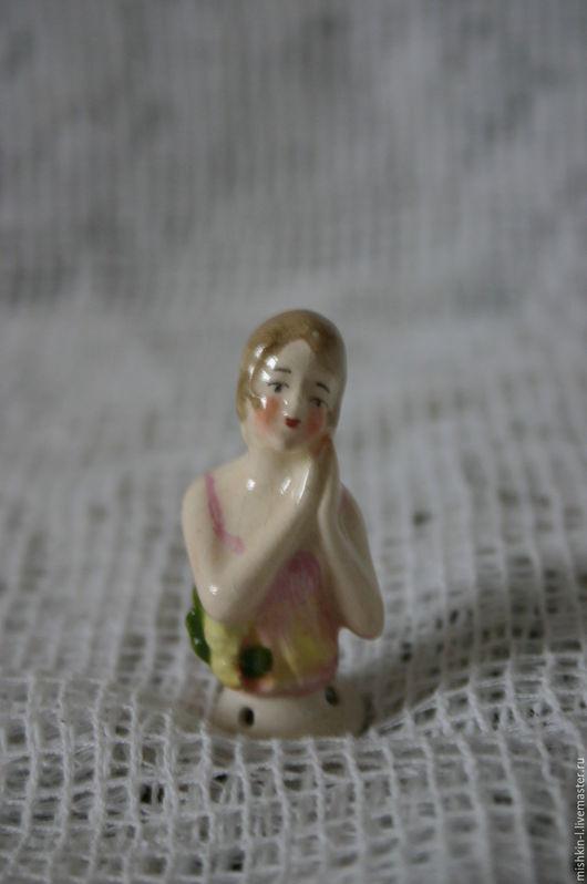 Винтажные куклы и игрушки. Ярмарка Мастеров - ручная работа. Купить Лиля (half doll). Handmade. Half doll, комбинированный