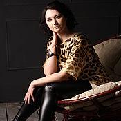 """Одежда ручной работы. Ярмарка Мастеров - ручная работа Платье """"Леопард"""". Handmade."""