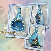Сувениры и подарки ручной работы. Ярмарка Мастеров - ручная работа Оформление бутылок. Handmade.