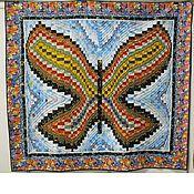 Для дома и интерьера ручной работы. Ярмарка Мастеров - ручная работа Одеяло-покрывало Бабочка. Handmade.