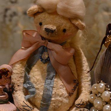 Куклы и игрушки ручной работы. Ярмарка Мастеров - ручная работа Мишка Тедди Парфюмер.. Handmade.