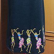 "Одежда handmade. Livemaster - original item Женское вышитое платье ЖП2""Пачанга""-147. Handmade."