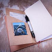Канцелярские товары handmade. Livemaster - original item A paper folder is a pocket for Midori Traveler`s Journal. Handmade.