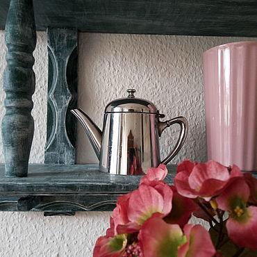 Винтаж ручной работы. Ярмарка Мастеров - ручная работа Заварочный чайник для декора. Металлический чайник. Кофейник. Handmade.