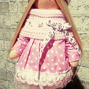 Куклы и игрушки ручной работы. Ярмарка Мастеров - ручная работа Куколка текстильная. Handmade.