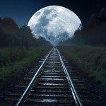 Лунный поезд (Изысканные украшения) - Ярмарка Мастеров - ручная работа, handmade