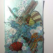"""Открытки ручной работы. Ярмарка Мастеров - ручная работа Открытка """"Море"""". Handmade."""